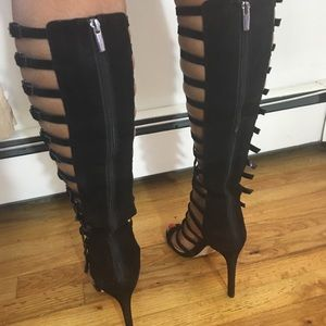 c0b84a5c1860 Vince Camuto Shoes - Vince Camuto Chesta Knee High Gladiator Sandals